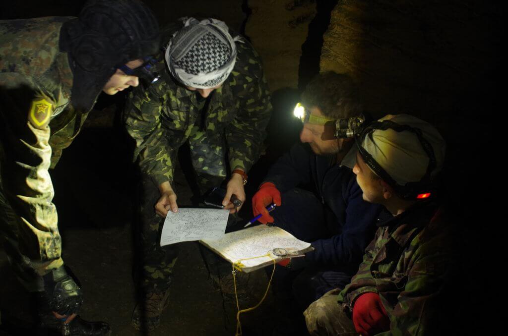 Ориентирование в Одесских катакомбах